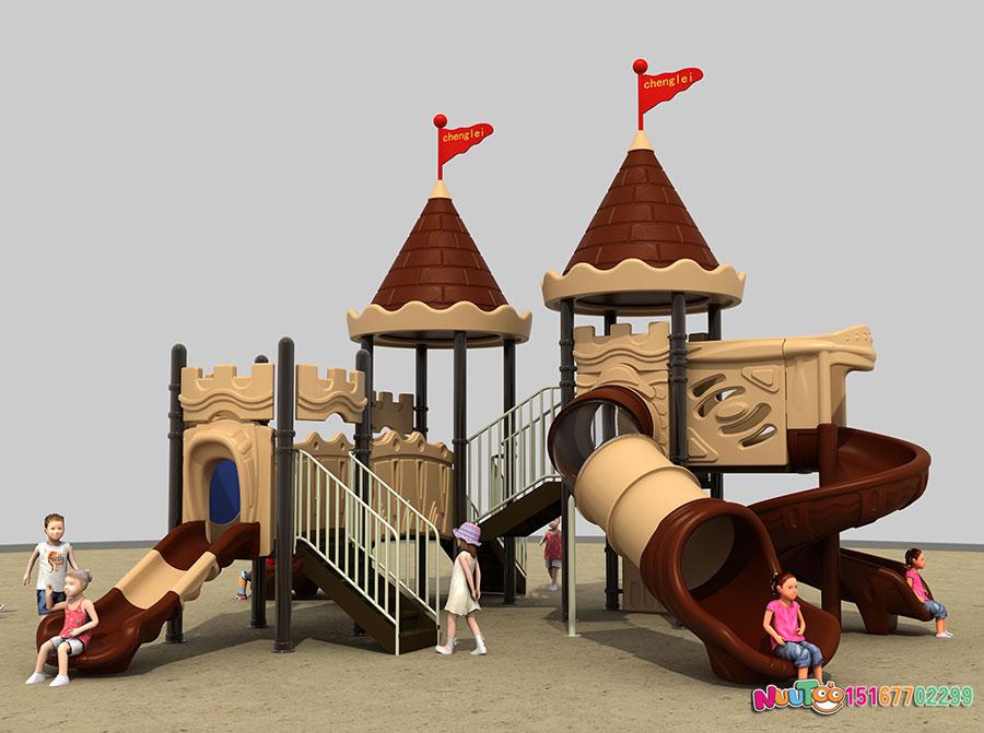 组合滑梯+儿童游乐设备+小博士+长城 (4)