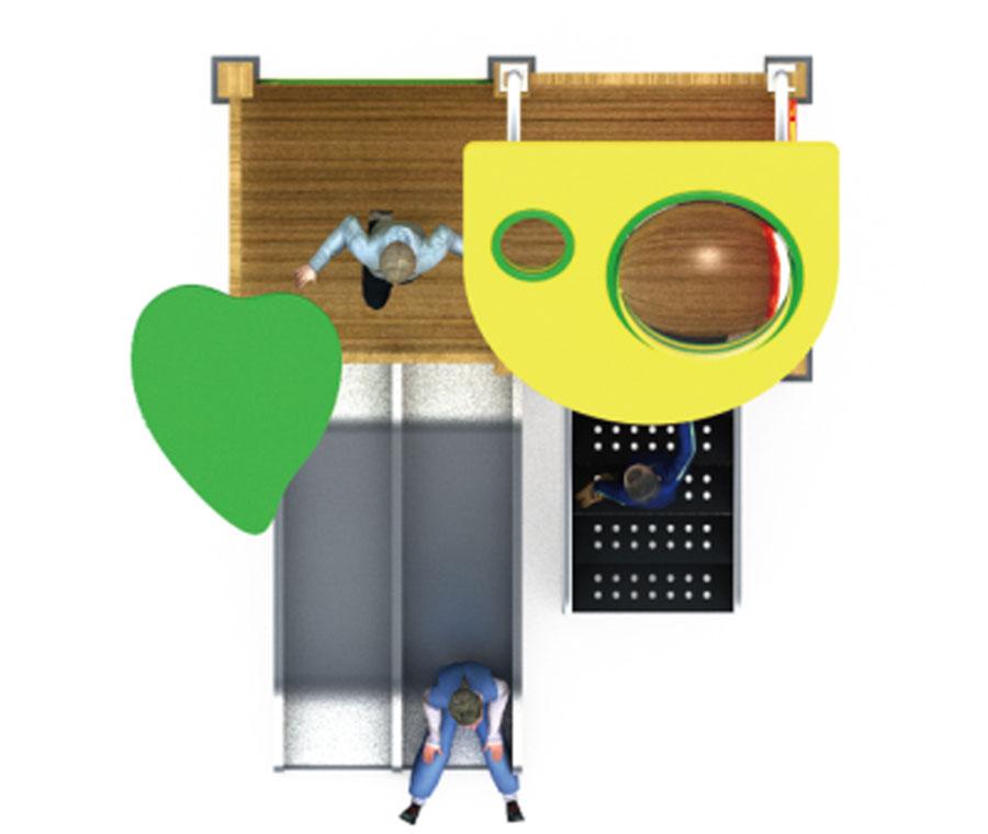 组合滑梯+游乐设备+小博士+滑梯+原木滑梯+不锈钢组合滑梯33