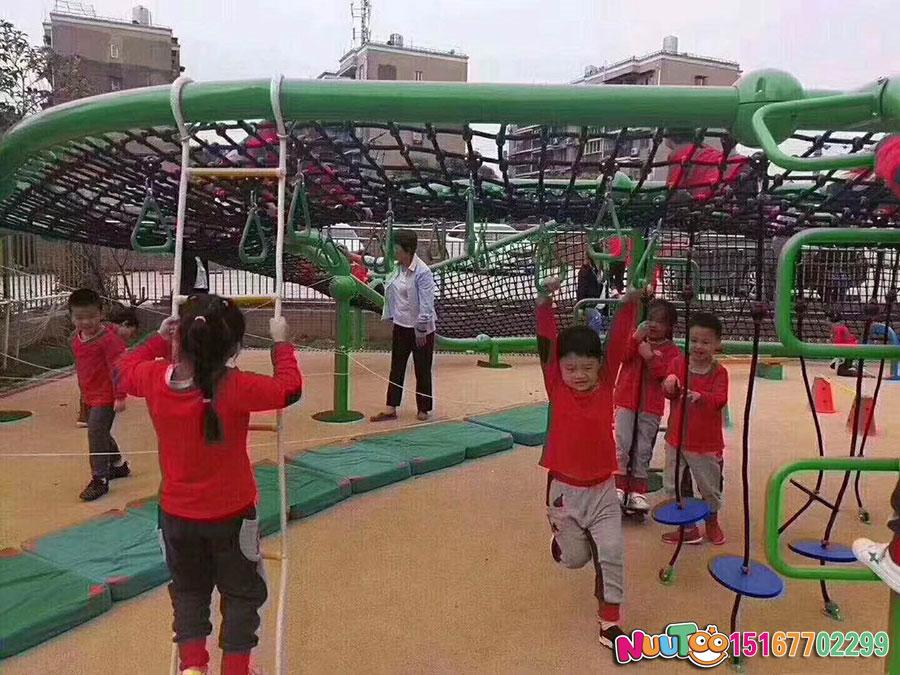 乐图非标游乐+大型爬网+幼儿园户外玩具-(4)