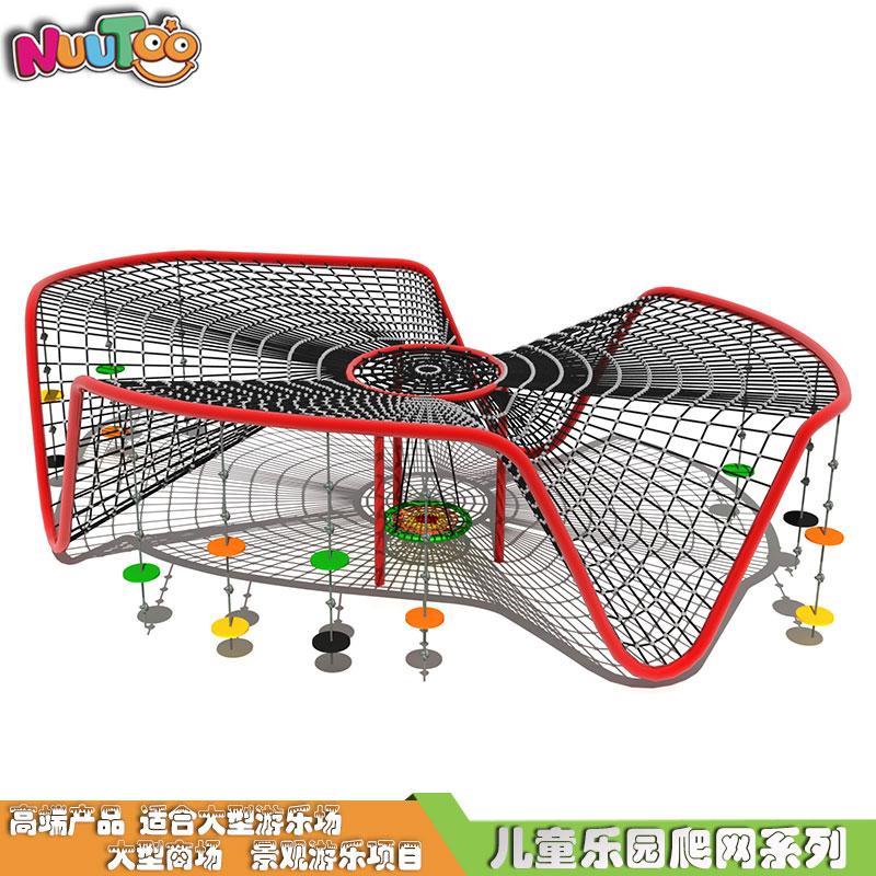新體能戶外繩網攀爬_樂圖非標游樂