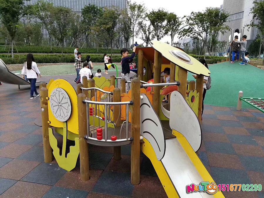 乐图非标游乐+幼儿组合滑梯+游乐场滑梯-(4)