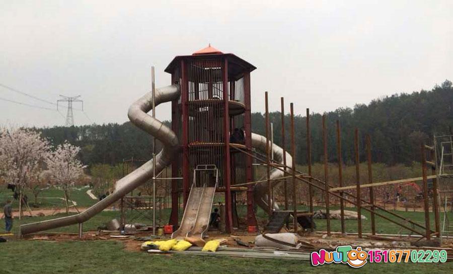 盛世之塔+非标游乐+儿童游乐+不锈钢滑梯 (8)