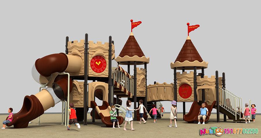 组合滑梯+儿童游乐设备+小博士+长城 (7)