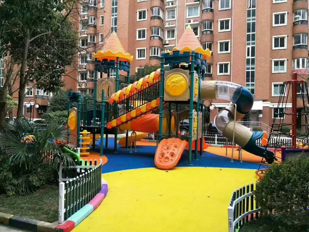 组合滑梯+儿童乐园+非标定制