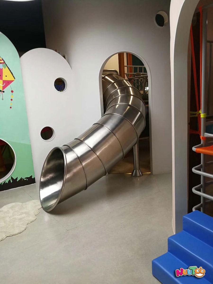 非标游乐+不锈钢滑梯+组合滑梯 (4)