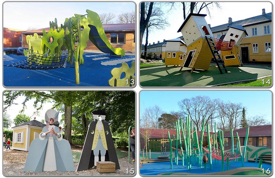 组合滑梯+实木组合滑梯+木质组合滑梯+无动力游乐设施+原木组合滑梯_15