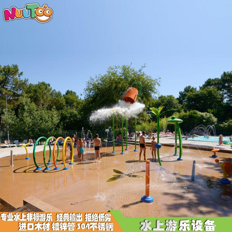 水上樂園戲水噴水淋水配套 非標游樂設備設施