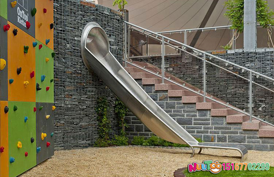 乐图非标游乐+各类不锈钢滑梯 (2)