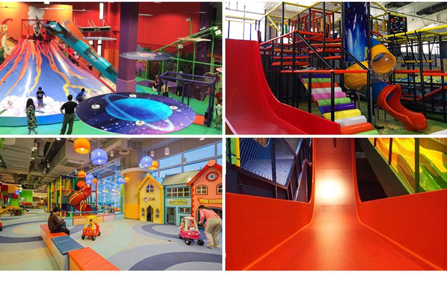 魔鬼滑梯+室内儿童乐园4