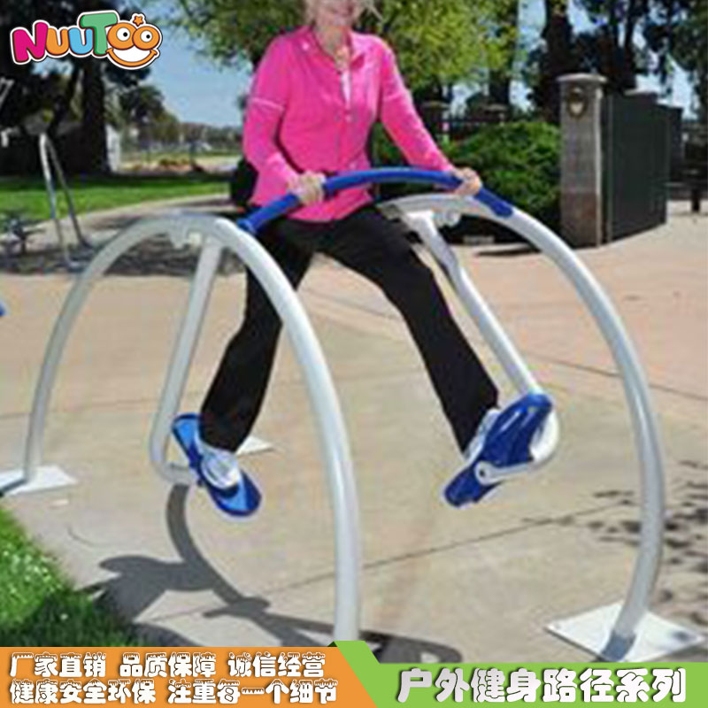 橢圓機小區戶外健身器材報價廠家_樂圖非標游樂