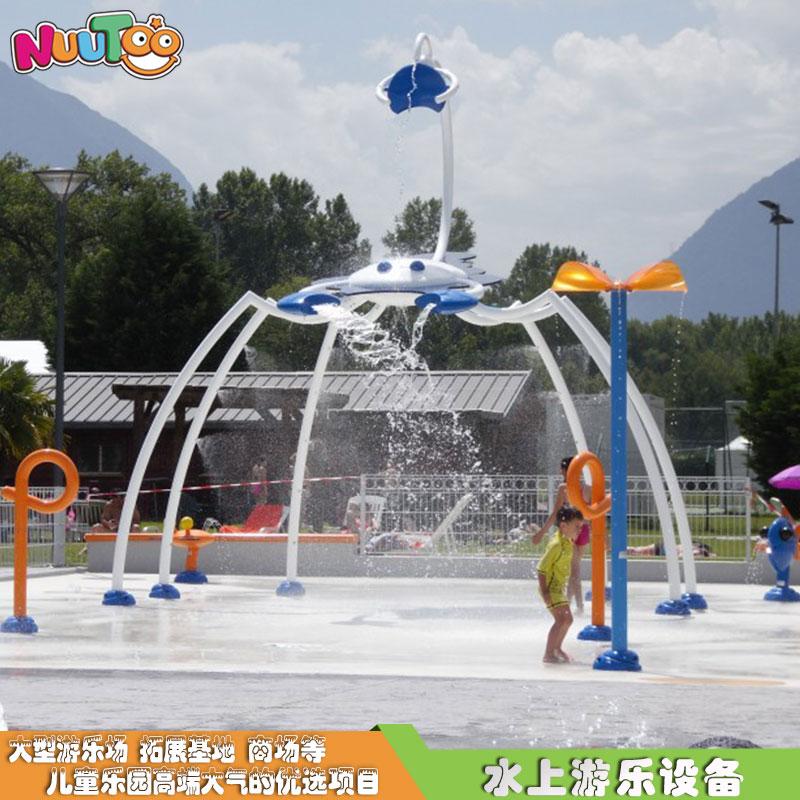 戲水噴水定制水上游樂設備_樂圖非標游樂