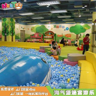大型球池淘氣堡組合兒童樂園