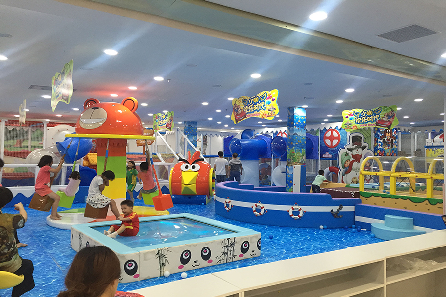 淘气堡+大型游乐设备+儿童游乐设备