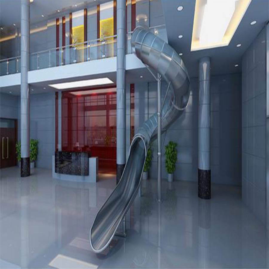 不锈钢滑梯+非标游乐设备+非标游乐