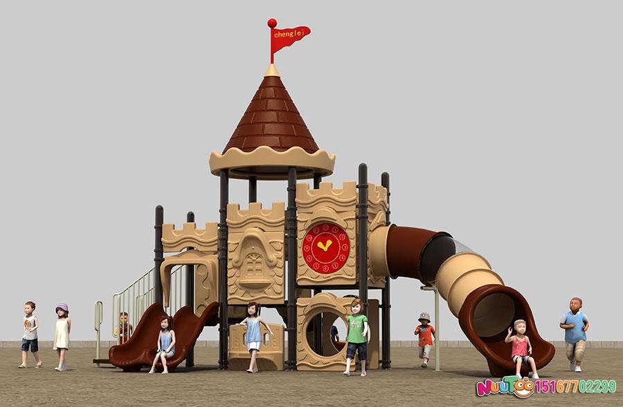 组合滑梯+儿童游乐设备+小博士+长城 (16)