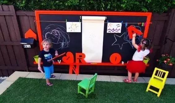 非标定制+图墙黑板+儿童游乐