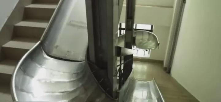 不锈钢滑梯+非标定制+组合滑梯