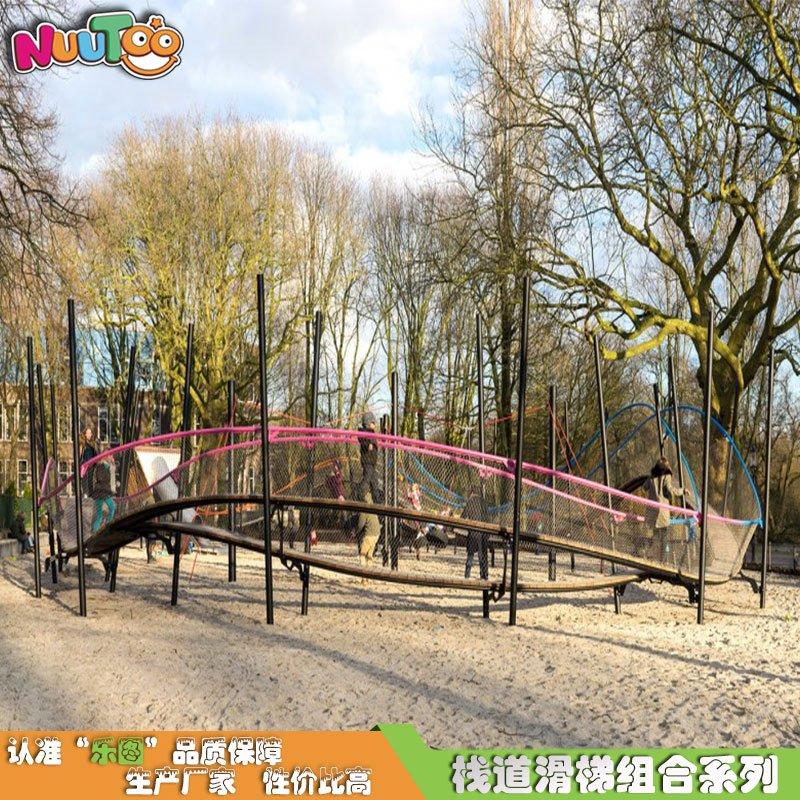 不銹鋼棧道組合滑梯 不銹鋼大型組合滑梯游樂設備生產廠家
