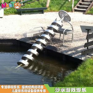 不锈钢螺旋取水器 沙水盘沙池戏水非标游乐设施