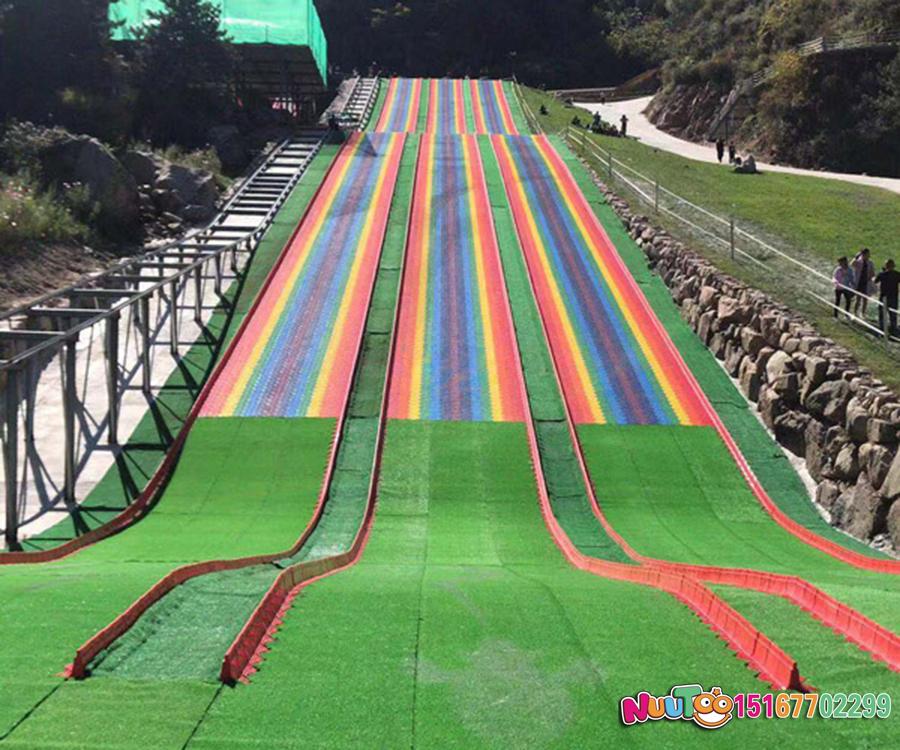 七彩滑道+七彩滑梯+旱雪滑梯+飞跃滑梯-(24)