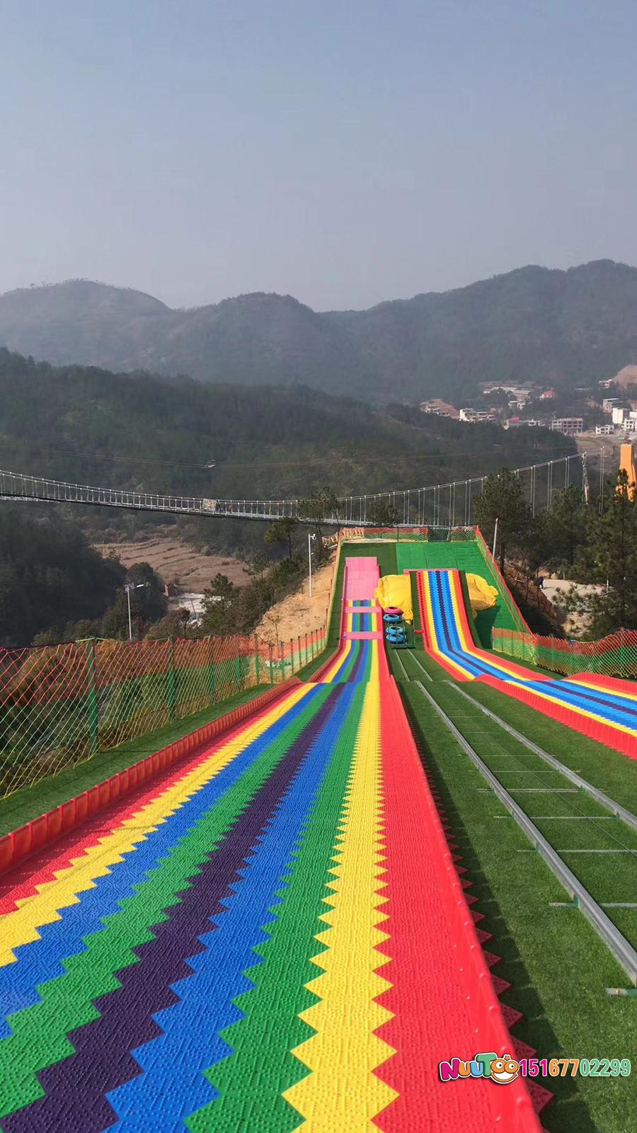 七彩滑道+七彩滑梯+旱雪滑梯+飞跃滑梯-(37)